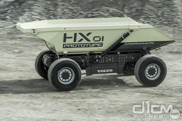 沃尔沃建筑设备HX1自动化电动装载车