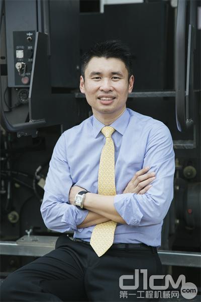 沃尔沃建筑设备中国区总裁岑家辉(Francis Sum)