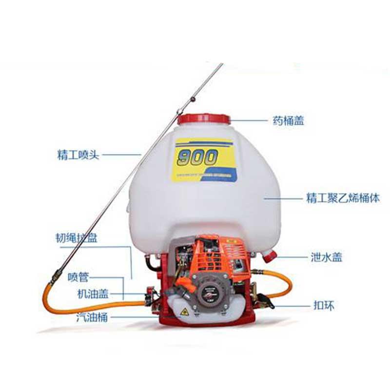重庆高射程背负式机动喷雾器