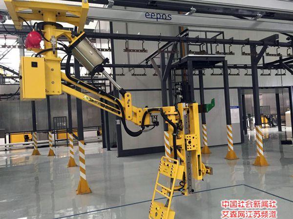 苏州海骏自动化机械有限公司 为客户量身定做机械手