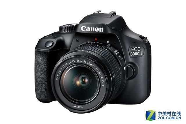更入门的单反相机佳能3000D正式发布