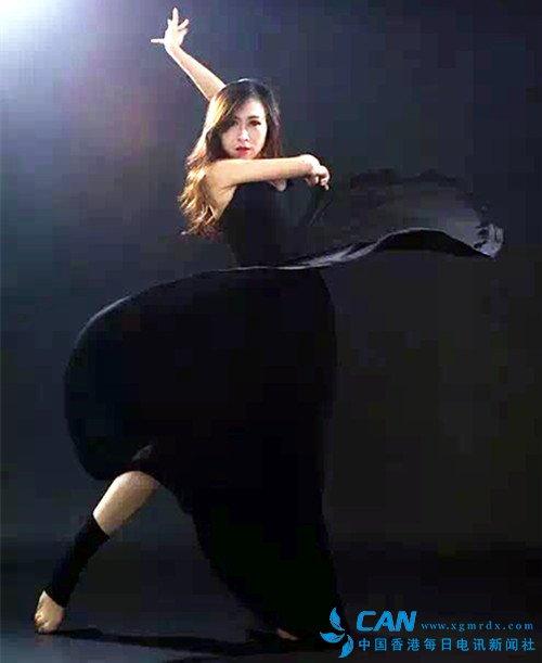 黄文娟:在乐曲中飞旋的美女舞蹈家