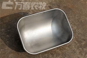 冲压成型不锈钢母猪料槽