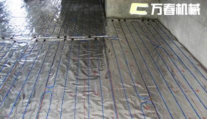 四川万春机械养猪场地暖系统-养猪取暖设备