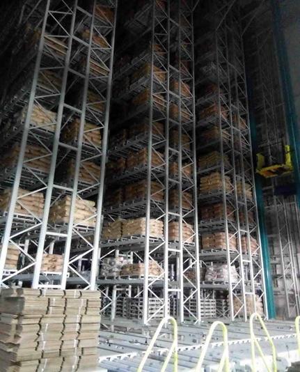 黑龙江贝因美乳业有限公司智能工厂物流系统内景图2