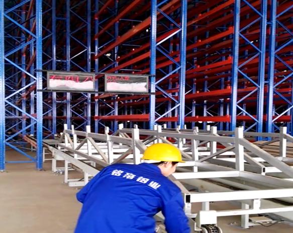 陜西銘帝鋁業有限公司自動化立體倉庫內景2