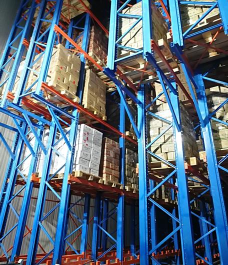 天津眾品自動化立體冷庫內景圖1