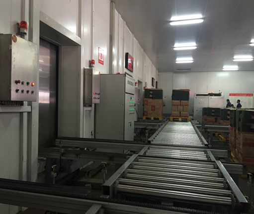 天津三全食品冷庫物流倉儲系統自動化立體庫內景3