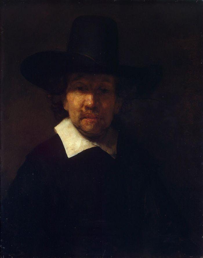 伦勃朗《 赫雷米亚斯德克尔的肖像》