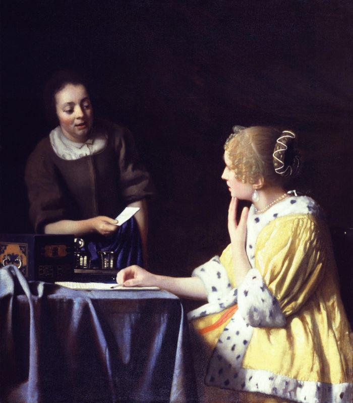 荷兰-约翰内斯·维米尔(Johannes Vermeer)绘画作品欣赏 - 李梨 - 李梨