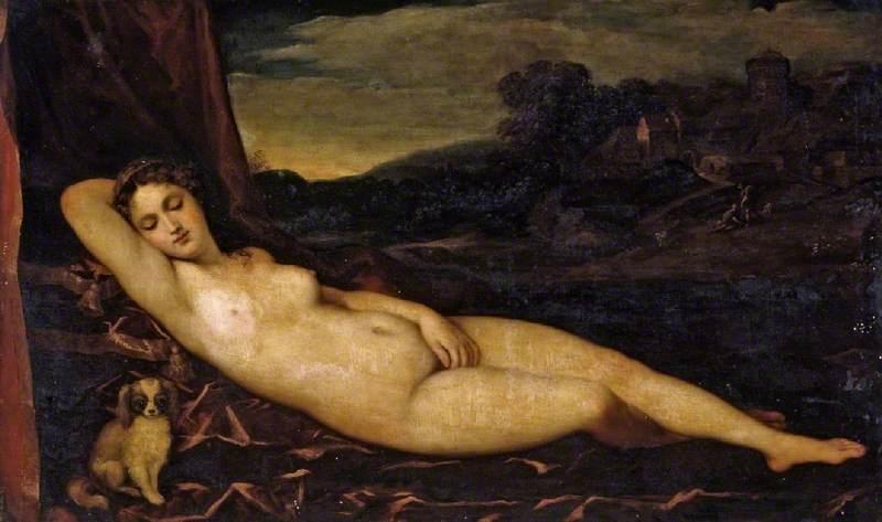 乔尔乔内《沉睡的维纳斯》