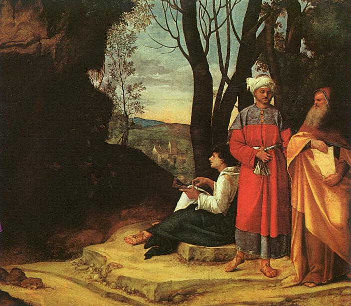 乔尔乔内作品《三哲人》