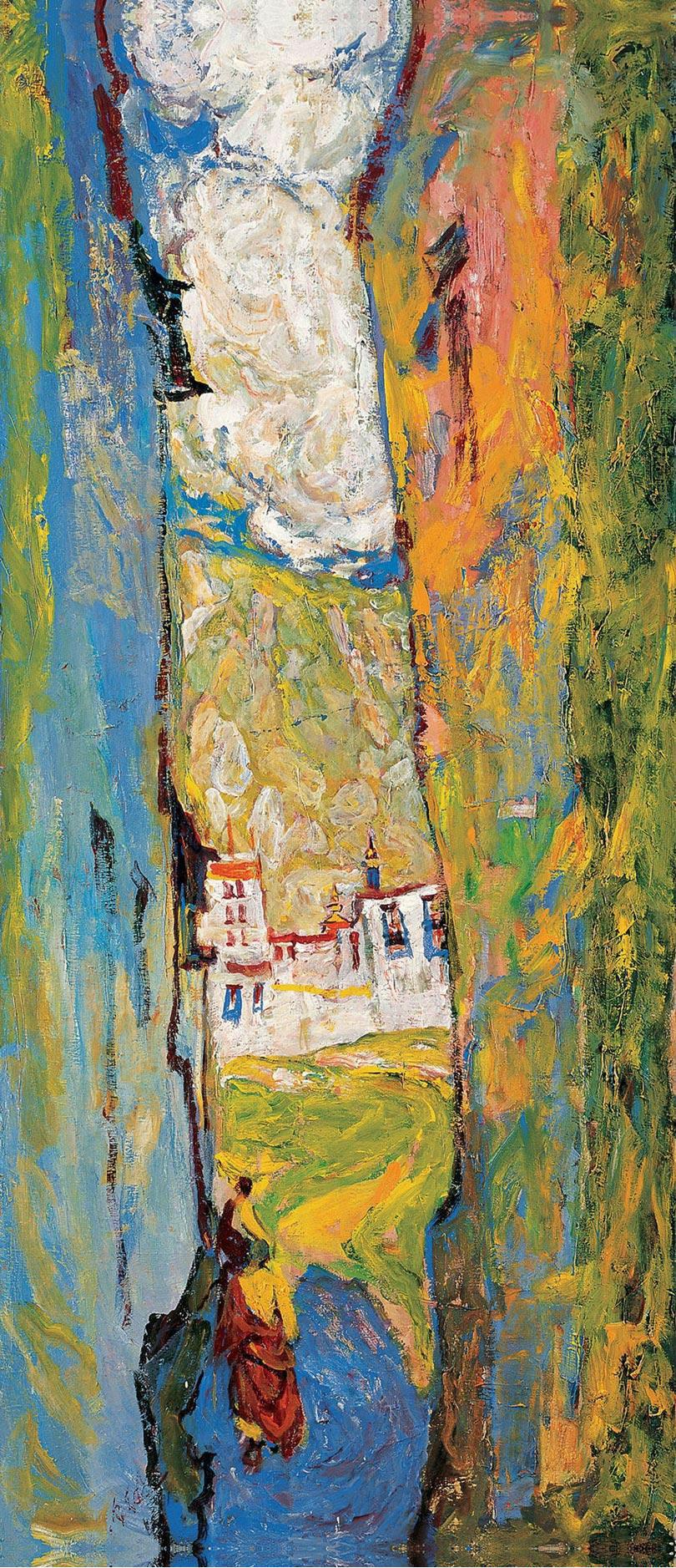 东方的梵高-当代中国油画大师罗尔纯作品欣赏 - 求是斋 - 求是斋书画