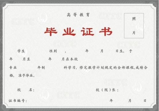 乐山医药科技学校毕业证样本