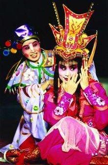 台湾豫剧院《中国公主杜兰朵》剧照