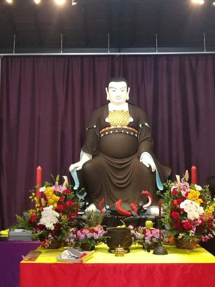 日本道观举行真武大帝神像安座开光典礼1