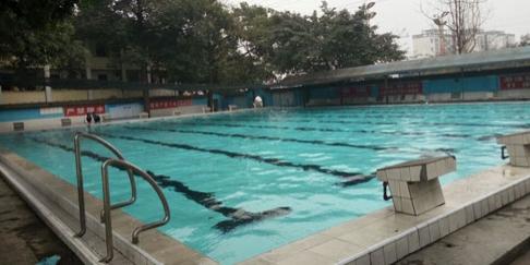 峨眉山旅游学校学校游泳馆