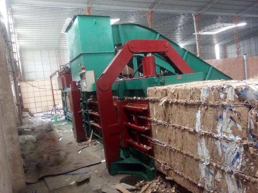 玉米秸秆打包机