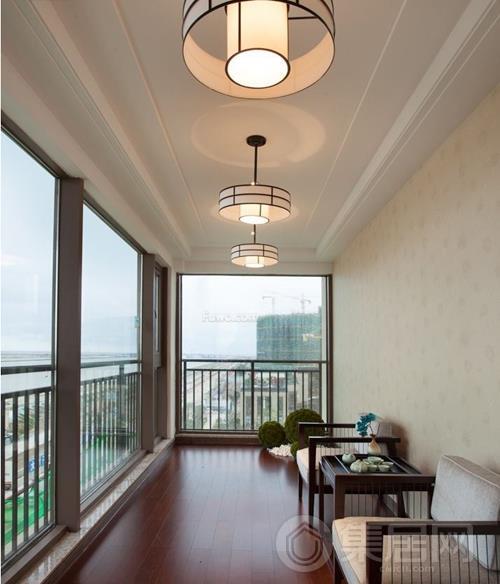 阳台石膏板吊顶