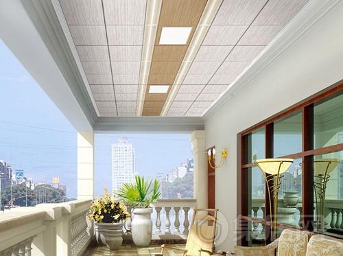 阳台铝扣板吊顶