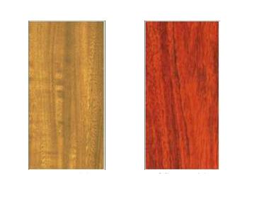仿木纹铝单板样板1