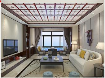 客厅铝天花吊顶效果图