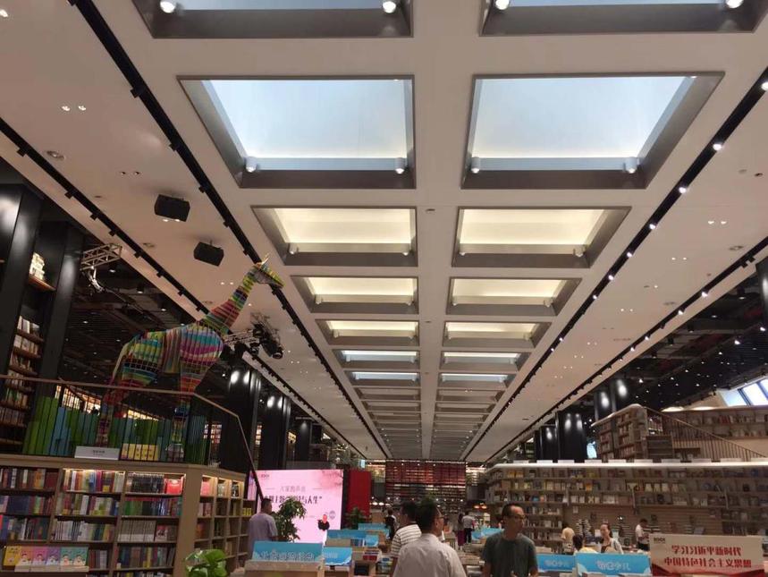 深圳龙岗书城大厅