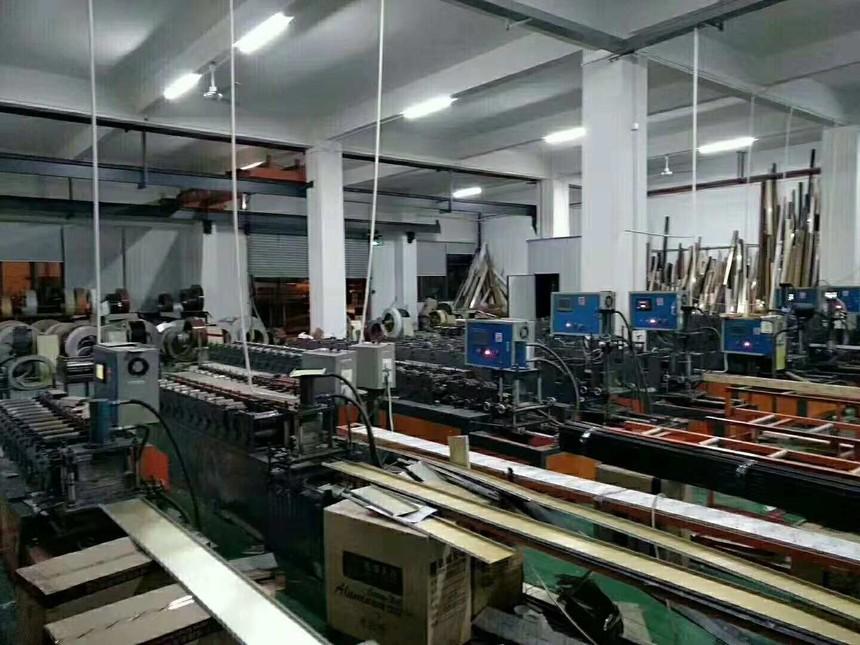 柏声迅域铝方通厂家机械设备