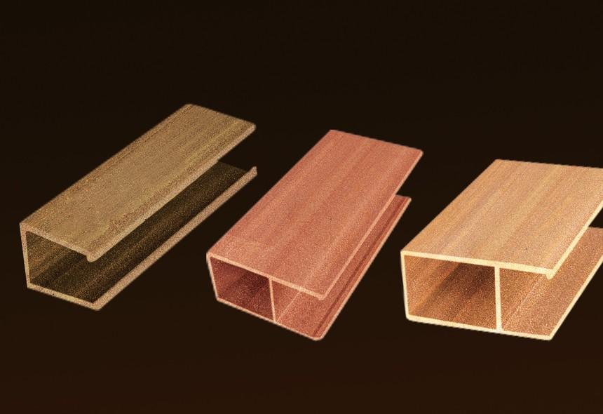 生态木纹铝方通
