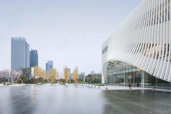 相城规划展示馆方管铝方通效果