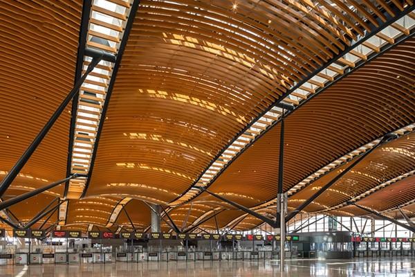 珠澳大桥香港口岸旅检大楼天花