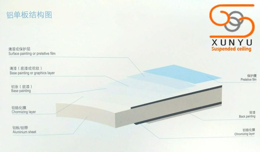 铝单板结构图