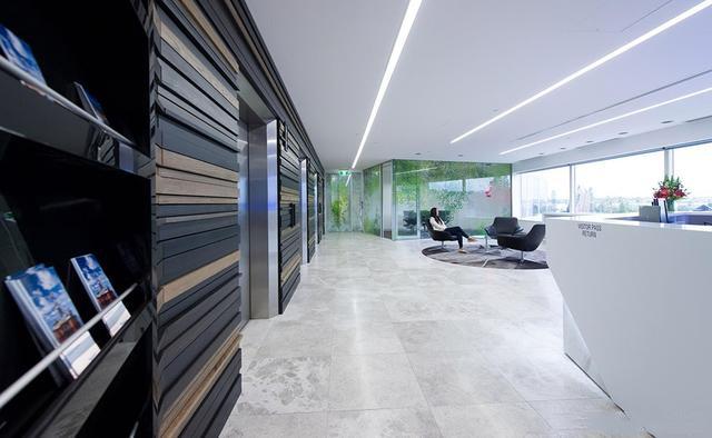 铝方通办公装饰效果