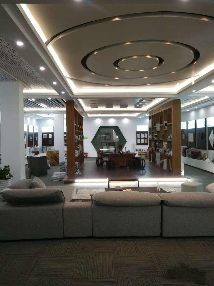深圳柏声迅域铝方通厂家展厅效果图展示