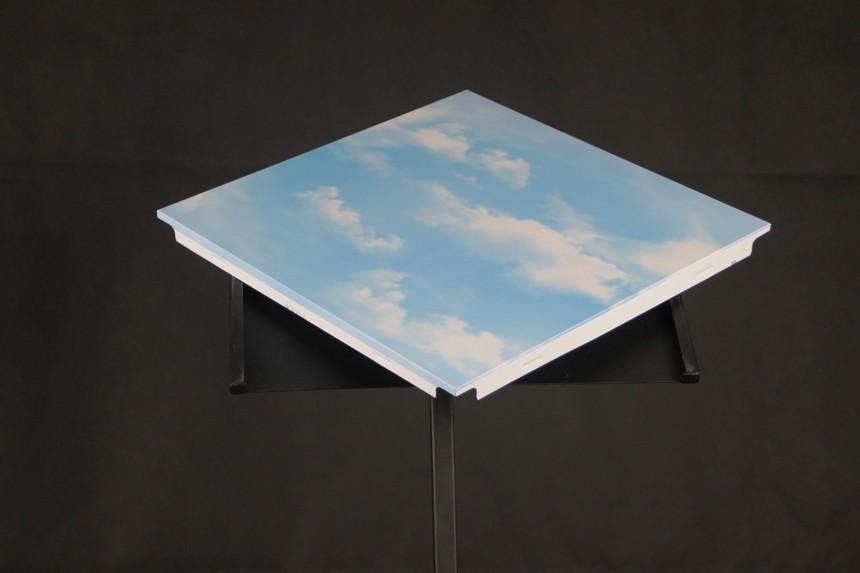 蓝天白云款铝扣板