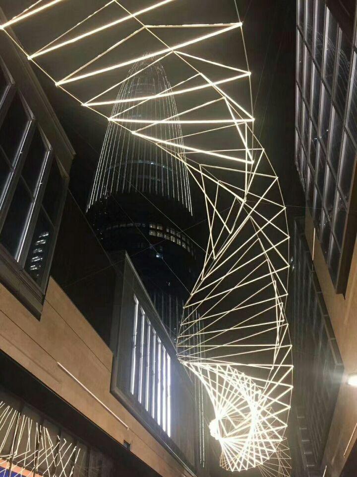 艺术天花吊顶铝单板幕墙系统