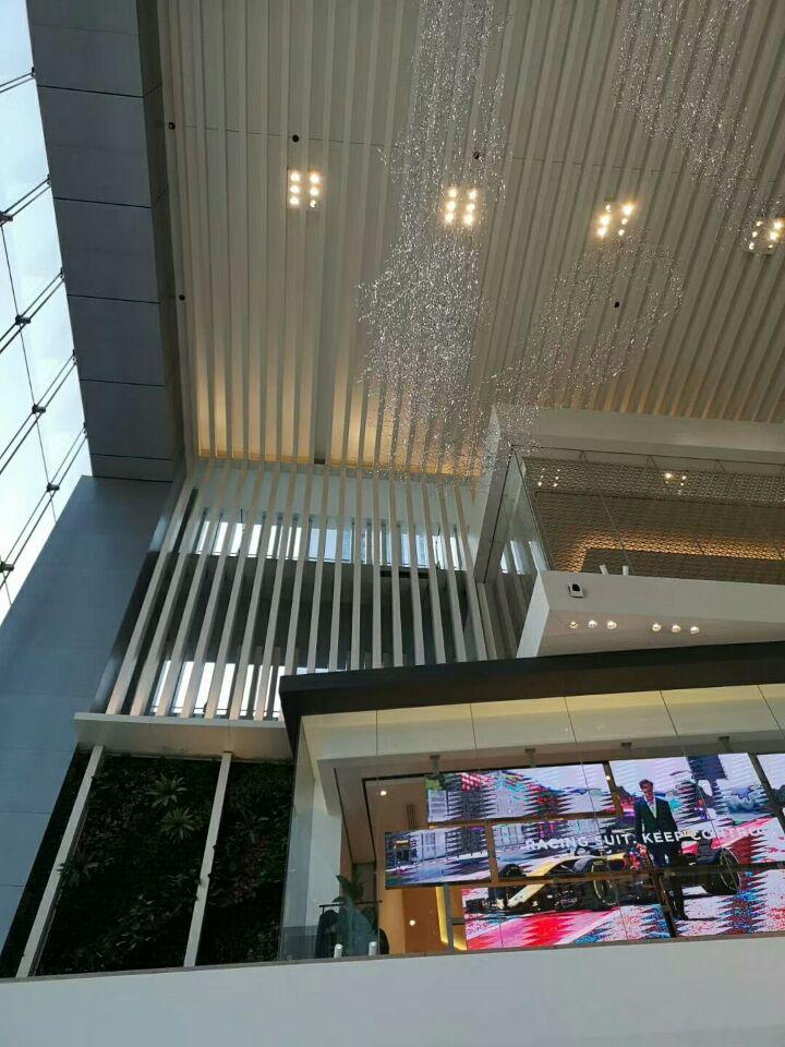 华润大厦总部天花展示