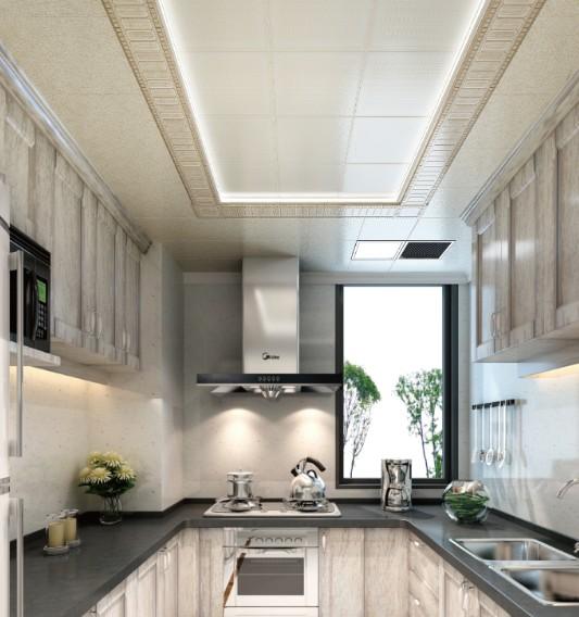 铝扣板吊顶厨房效果展示