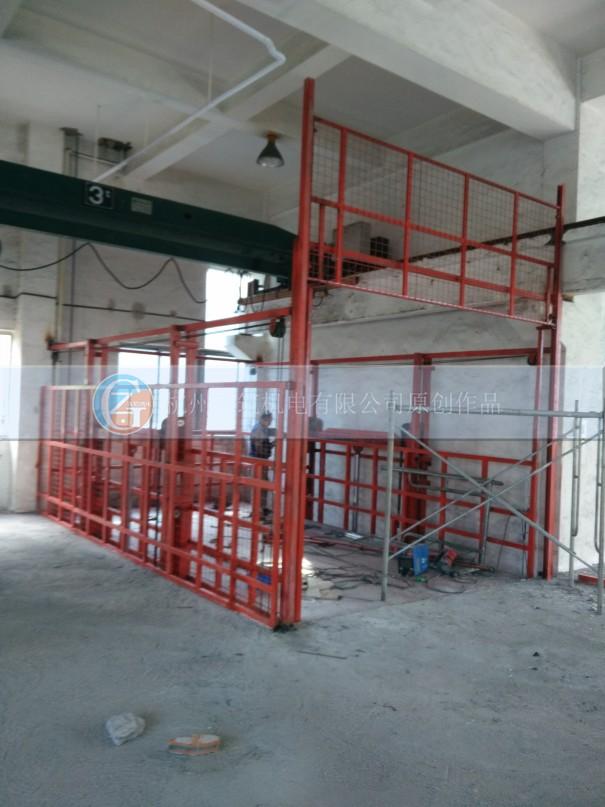 货梯防护门