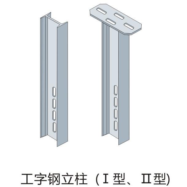桥架二-工字钢立柱(Ⅰ型 Ⅱ型).jpg