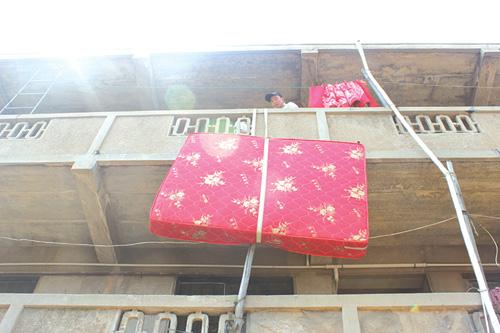广州高空吊床垫