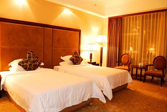 宾馆双人卧室装修效果图