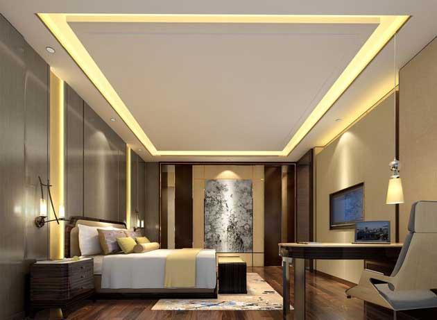 酒店卧室房间装修