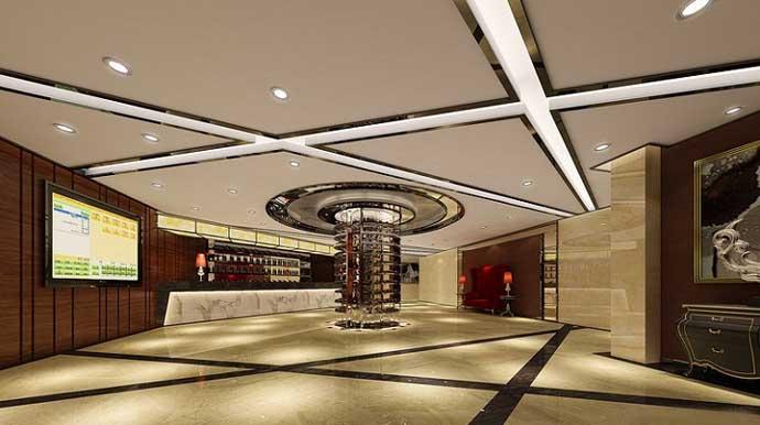 星级酒店大厅走廊