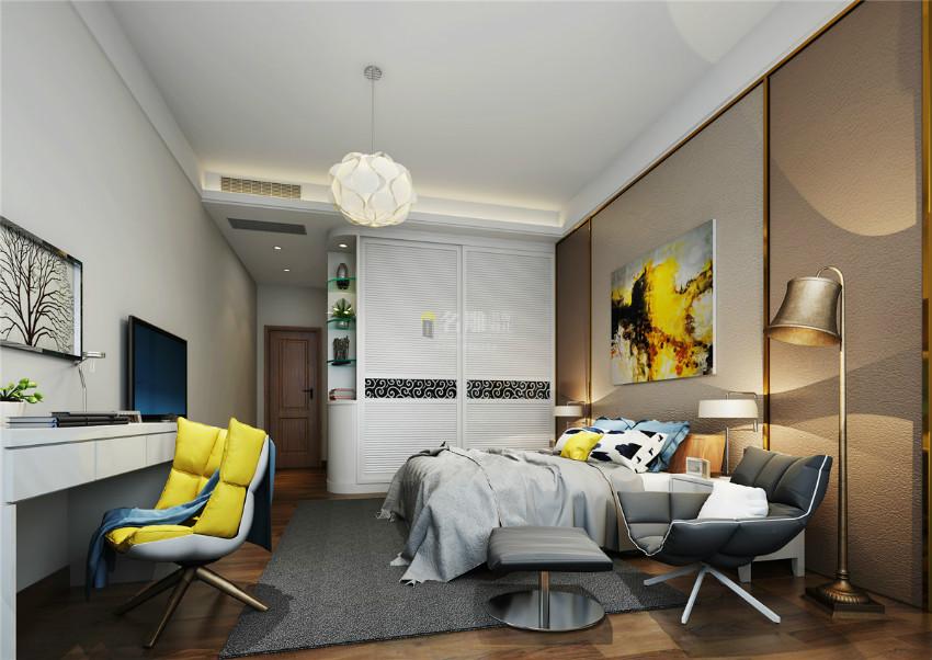 北歐現代風臥室裝修