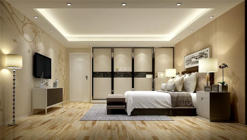 家裝設計公司臥室效果圖