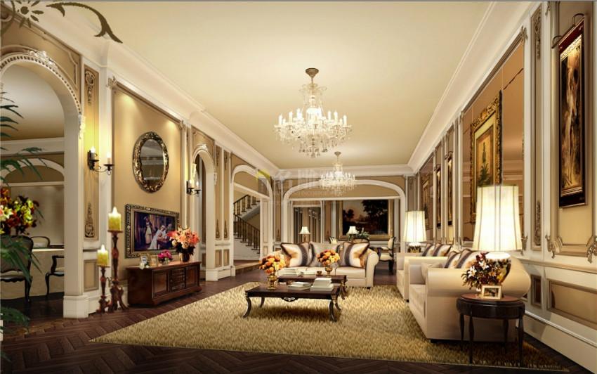 观澜别墅客厅装修设计