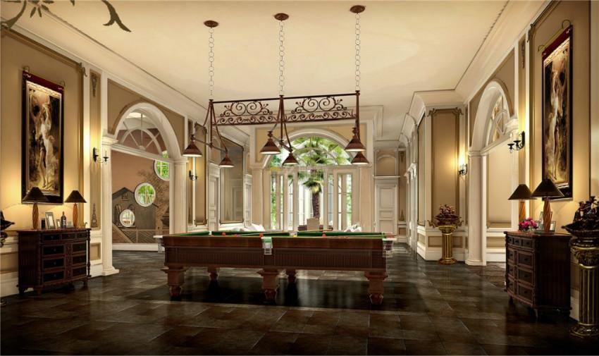 观澜别墅娱乐室装修设计