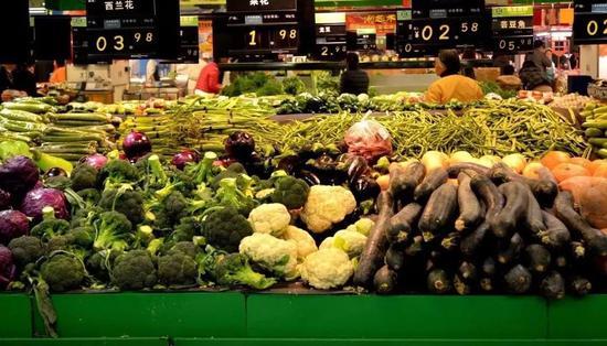 随机将某种蔬菜价格涨涨,也是超市的惯用伎俩。