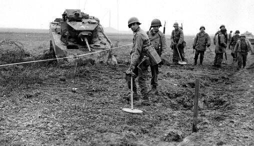 二战时期地下金属探测器